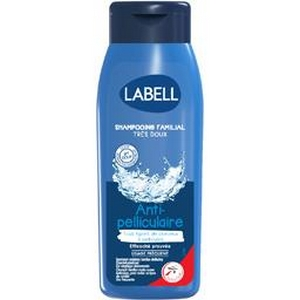 Labell shampooing familial très doux antipelliculaire 400ml