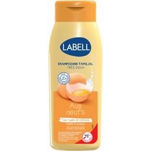 Labell shampooing très doux aux oeufs 400ml