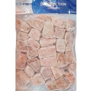 Cubes de thon sans peau sans arêtes 720g