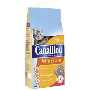 Canaillou litière parfumée pour chat 10l