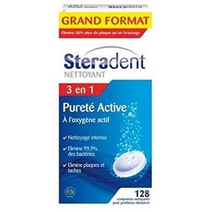 Stéradent pureté active nettoyage express x36