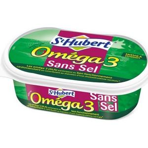 Beurre sans sel St Hubert oméga3 250g