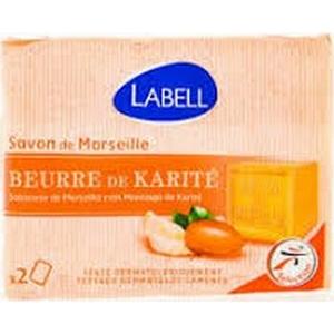 Labell savon de Marseille au beurre de karité 2x100g
