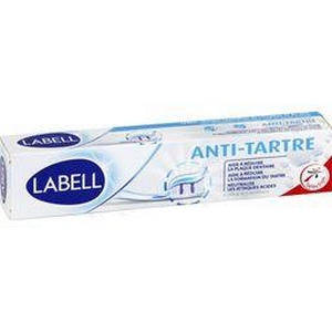 Labell dentifrice anti-tartre 75ml