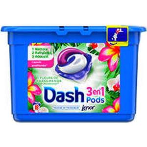 Dash Pods fleurs de frangipanier 3en1 x18