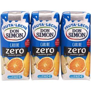 Boisson lactée Don Simon caribe 3x330ml