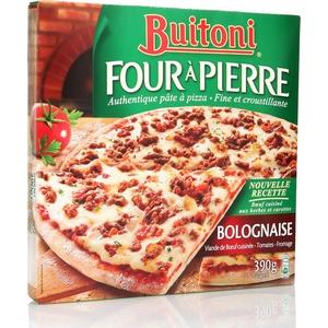 Buitoni pizza four à pierre boeuf bolognaise 390g