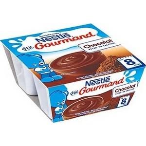 Nestlé p'tit gourmand chocolat 8 mois plus 4x100g