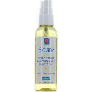 Biolane spray d'huile d'amande douce corps et bain 75ml
