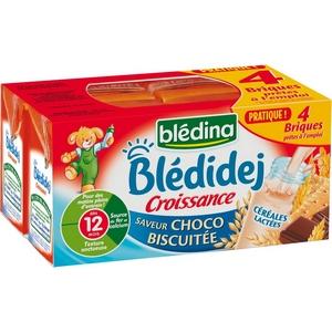 Blédidej choco biscuitée 4x250ml