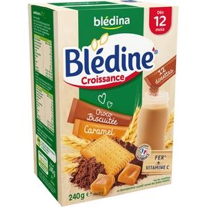 Blédine choco biscuitée caramel dès 12 mois 240g