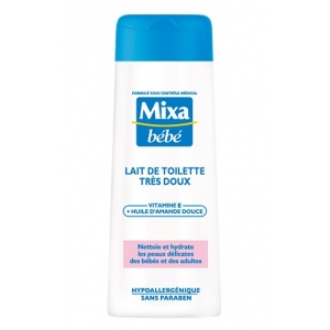 Mixa bébé lait de toilette très doux à l'huile d'amande douce 250ml