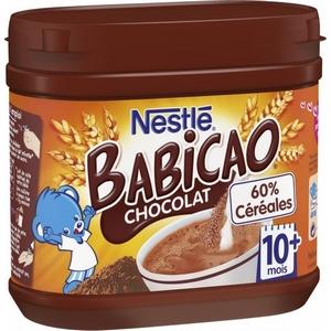 Nestlé babicao chocolat 10M plus 400g