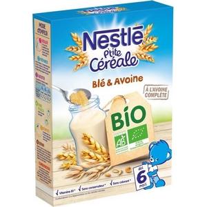 Nestlé p'tite céréale Bio blé et avoine 240g