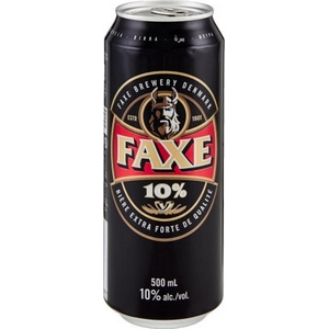 Bière faxe royal strong 10% alc. Vol. 500 ml