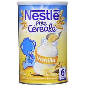 Nestlé p'tite céréale vanille dès 6 mois 400g