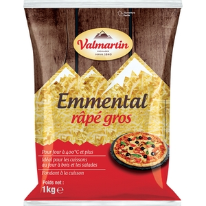 Valmartin emmental râpé 1kg