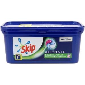 Skip lessive capsules fraîcheur intense x26 702g