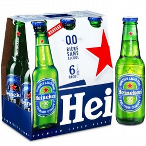 Heineken bière sans alcool 0,0% Vol. 6x25cl
