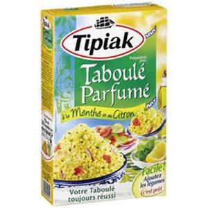 Tipiak taboulé parfumé à la menthe et au citron 350g