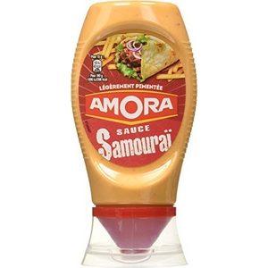 Amora sauce Samouraï légèrement pimentée 255g