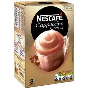 Nescafé cappuccino choco 8 sticks, 148g