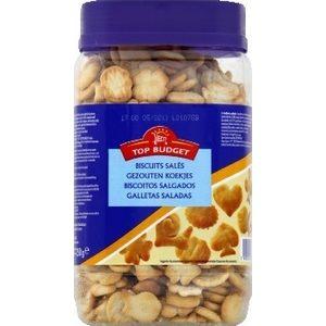 Top budget biscuits apéritifs salés 350g