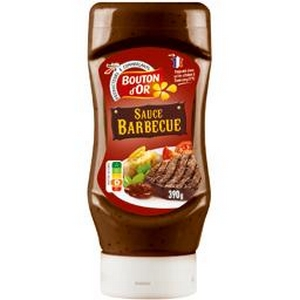Bouton d'or sauce barbecue 390g