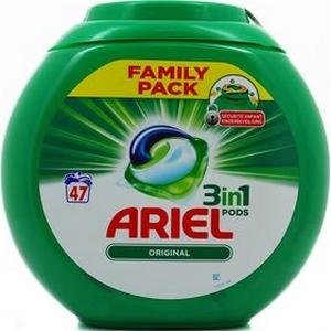 Ariel pods original 3en1 47 doses