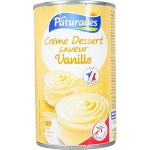 Pâturages crème dessert vanille 510g