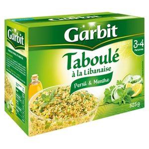 Garbit taboulé à la Libanaise persil et menthe 525g