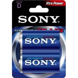 Piles Sony Xtra Power Alkaline AM1 D 1,5V X2