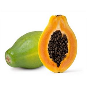 Papaye mûre la pièce origine Guadeloupe (1kg à 1,2kg)