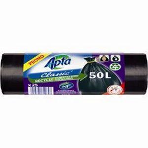 Apta sacs poubelle 'classic' 10x50l