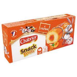 Chabrior snack à l'abricot 5x30g