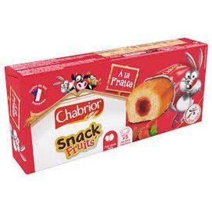 Chabrior snack à la fraise 5x30g