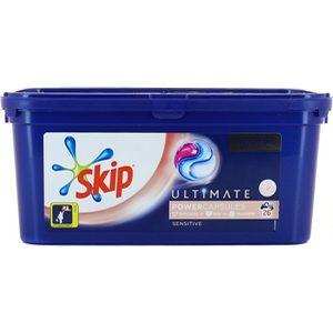 Skip lessive capsules sensitive x26 702g