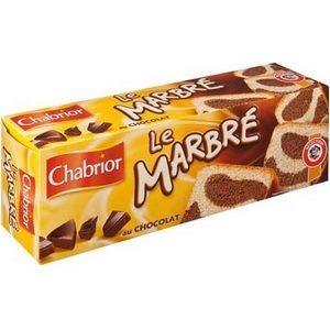 Chabrior le marbré au chocolat 300g