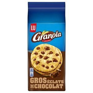 Lu Granola l'original cookies aux gros éclats de chocolats 184g