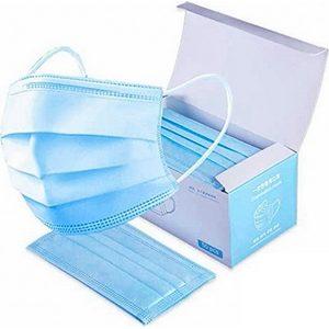 Masques de protection jetables boite de 50 filtration env. 95%