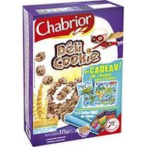 Chabrior céréales déli cookie 375g