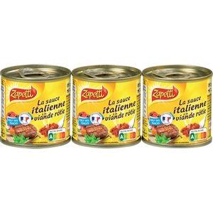 Zapetti sauce italienne 3x95g