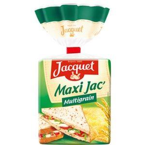 Pain de mie multigrain Maxi Jacquet 14 tranches 550g