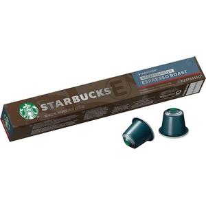 Starbucks café Nespresso espresso roast, décaféiné 10 capsules