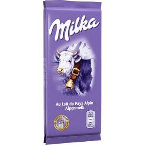 Milka tablette de chocolat au lait 100g
