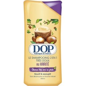 Dop shampooing 2 en 1 très doux au karité cheveux très secs ou frisés 400ml