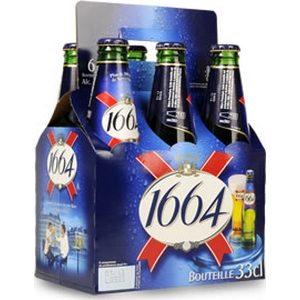 Bière 1664 blle 5,5% vol. 6x33cl