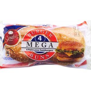 Serebis burger classic x4 300g