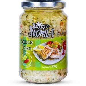 Sauce chien Komla au piment végétarien 300g