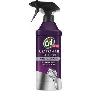 Cif spray ultimate clean anti-calcaire 435ml